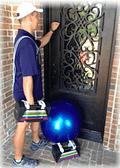 frisco trainer knocking on door