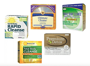 photo of popular cleanses