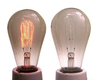 2 light bulbs