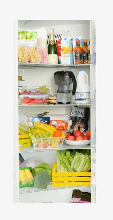pantry full of healthy foods