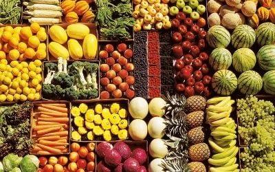 Fruits & Vegetables: More Color, Less Cancer