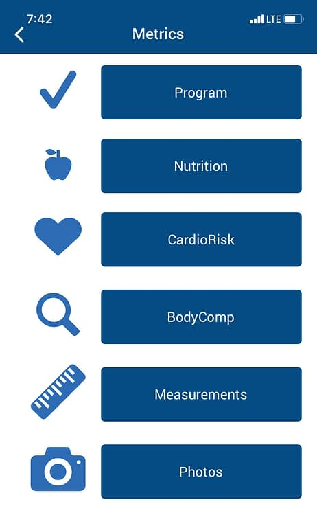 app for tracking health and fitness stats