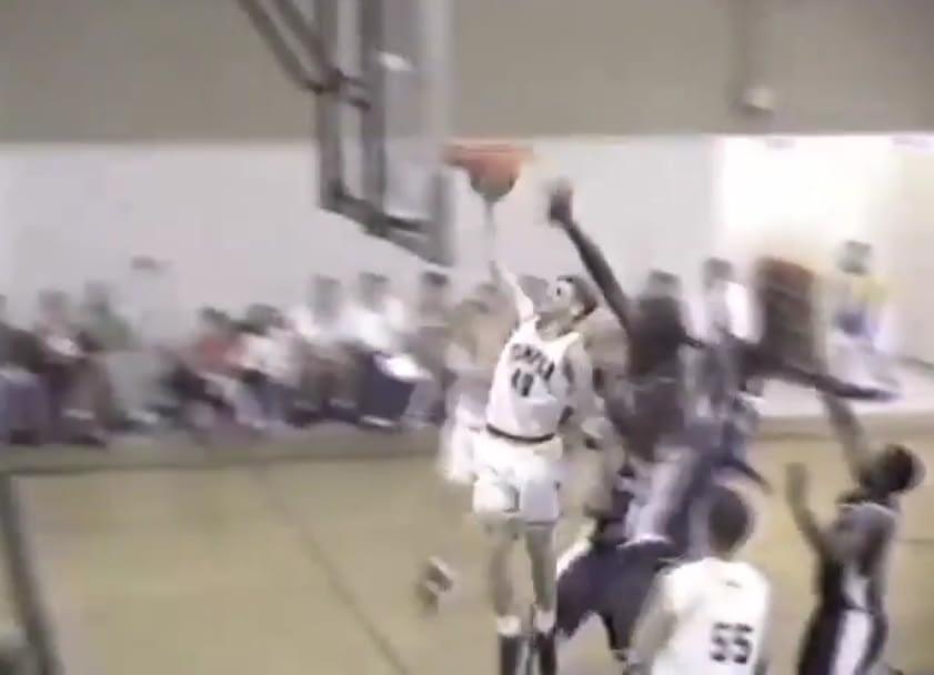 Thomas Jensen, found, playing basketball